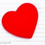 February 14th Calendar Entry with a Heart