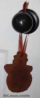 Applesauce Cinnamon Ornament