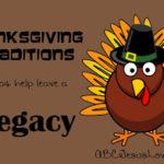 Thanksgiving Traditions:  An Attitude of Gratitude