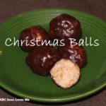 Recipe:  Christmas Balls