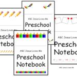 Create a Preschool Notebook