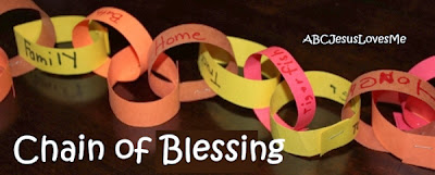 Creating a Thanksgiving Chain of Blessing