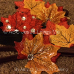 Creating Thanksgiving/Fall Headbands
