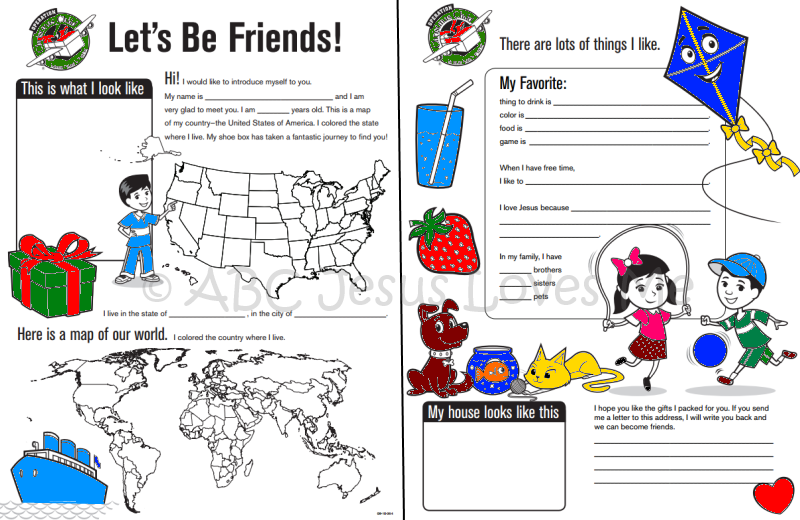 Operation Christmas Child Printables.Insider Tips To Packing A Shoebox Filled With Love For