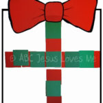 Christmas Square Activity