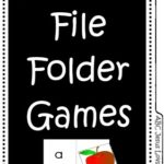 How to Make File Folder Games