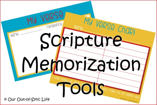 A precious gift scripture memory giveaway our out of sync life last week on the abc jesus loves me facebook group allison shared memory verse printables that she created to help her family learn verses fandeluxe Image collections