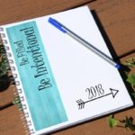 Impacting 2017:  Be Intentional Planner
