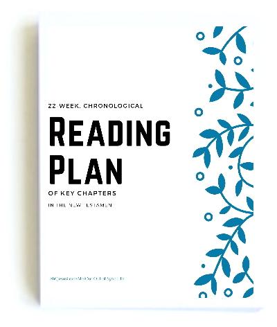 New Testament Reading Plan
