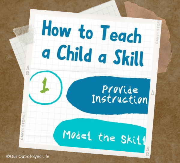 How to Teach a Skill Printable